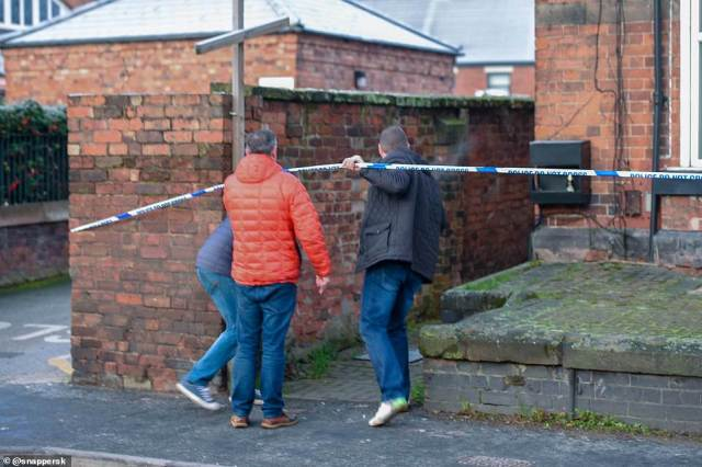 Staffordshire police are passing all enquiries to the Met Police after raiding the terrorist's home in Staffordshire this morning