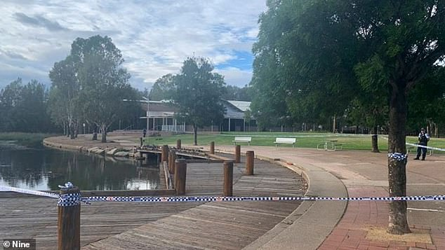A man is due to face a western Sydney court after another man was stabbed multiple times in the back while walking at a lake last month