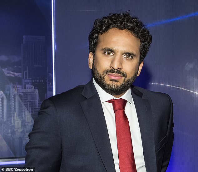 Comedian and TV host Nish Kumar was booed off stage at Lord's Taverners' Christmas lunch