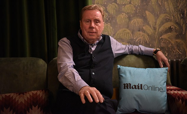 Harry Redknapp had earlier hosted a Q&A session that was well received by the audience
