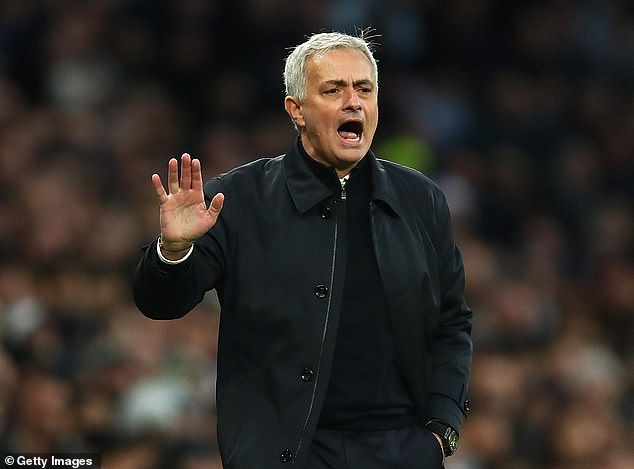 Mourinho has won all three of his opening games since taking charge of Tottenham