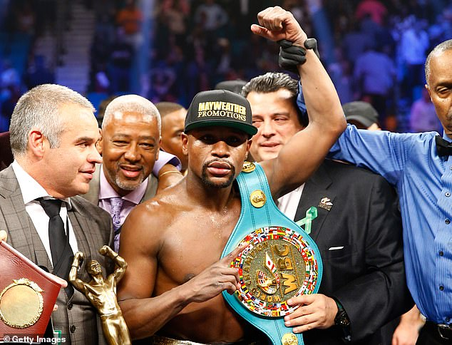 Floyd Mayweather has taken prize purses to enormous levels given his ability to hype up fights