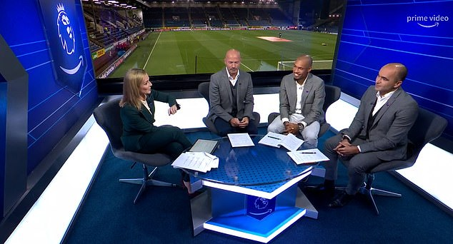 Star names including Alan Shearer and Roberto Martinez were drafted in as pundits