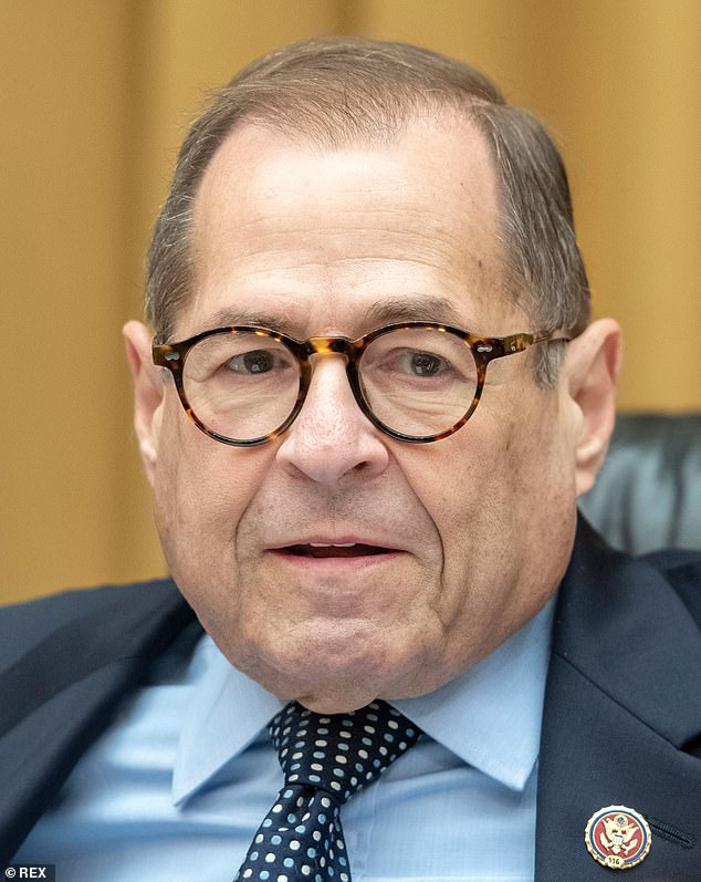 House Judiciary Chairman Jerry Nadler (pictured) is continuing the impeachment inquiry Wednesday after the Intelligence Committee released a report indicating based on its investigation the president has committed impeachable offenses