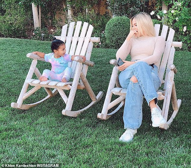 The latest: Kardashian warned social media followers on Tuesday not to speak poorly of her confidantes; seen with baby True this week