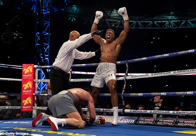 Joshua claims his best moment in the ring was against Wladimir Klitschko back in 2017