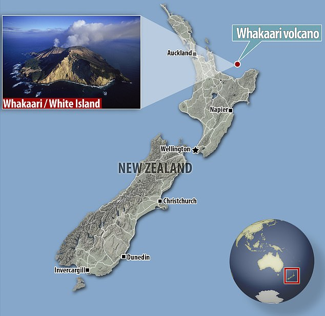 Image result for white island new zealand