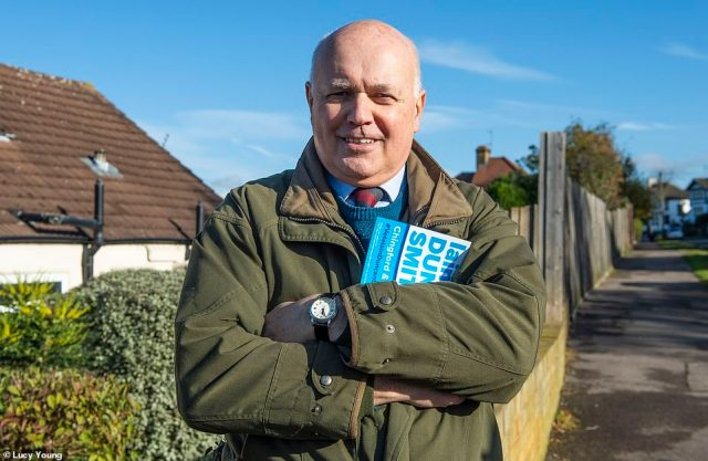 At risk: Former Tory leader Iain Duncan Smith is facing a strong challenge from Labour in his constituency of Chingford and Woodford Green.The seat will also be an indication of Labour's overall strength in London