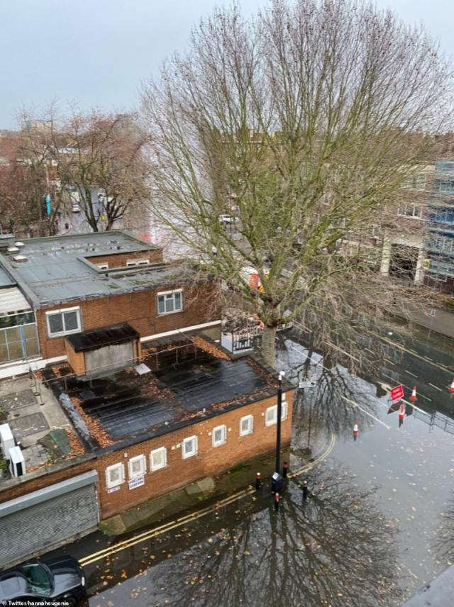 But voters in this area of Bermondsey after a burst water main on the busy Jamaica Road flooded the area