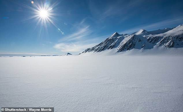 The team hope to be able to use the new map to better understand which areas of Antarctica are vulnerable to global warming (stock image)
