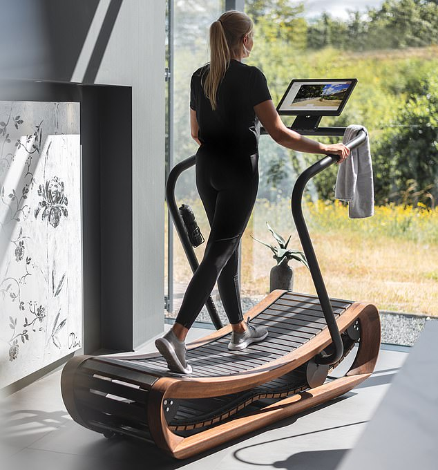 Nohrd SprintBok Curved Manual Treadmill: This swish wooden treadmill needs no electricity and will transform homes and workouts