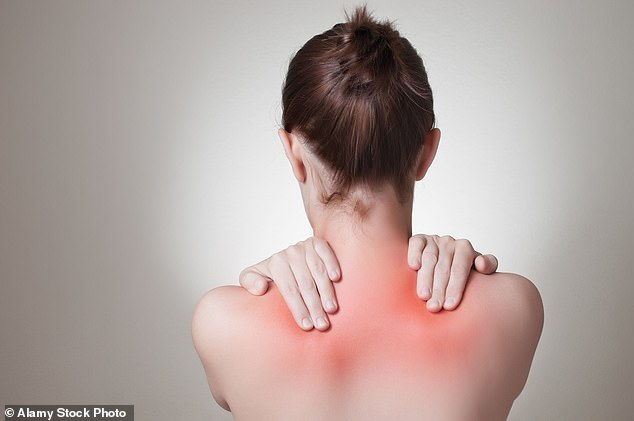 Pain in this area is associated with poor posture, muscle fatigue and stress says Tim Allardyce