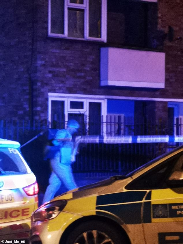 The victim in Walthamstow, the 139th killing in London this year, died at the scene while the second man was rushed to hospital, also with knife wounds