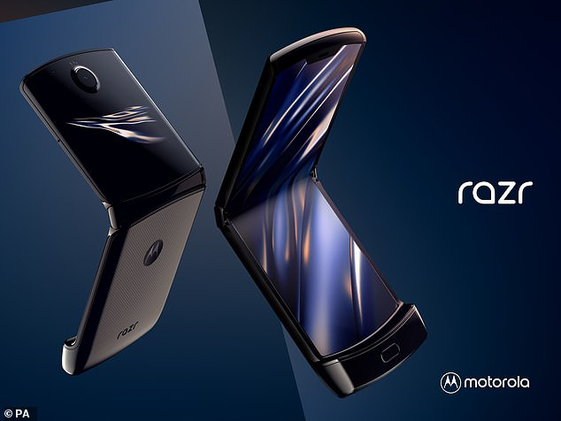 Motorola's new razr will look to bite off a section of the folding phone market which is currently dominated by Samsung and Chinese phone-maker, Huawei