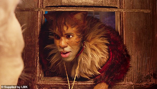 Standing up to criticism:Jason Derulo, who stars as Rum Tum Tugger in the film, is himself rather displeased with critics' poor opinions
