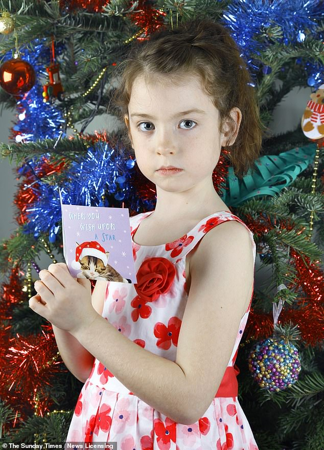 Six-year-old schoolgirl Florence Widdicombe, from Tooting, London, found a desperate plea for help from prisoners at the same prison in a Tesco charity Christmas card last month
