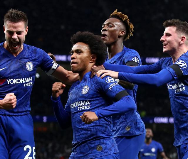 Tottenham Vs Chelsea Premier League Top Four Battle Live Score