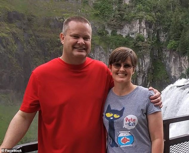 Lori Vallow married Chad Daybell (left) just weeks after his first wife, Tammy Daybell (right) was found dead under mysterious circumstances on October 19 in Rexburg
