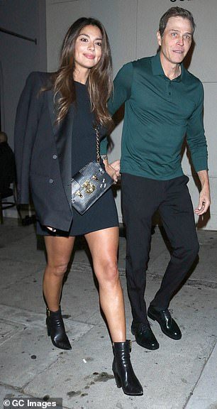 The pair are shown again during her November trip to L.A