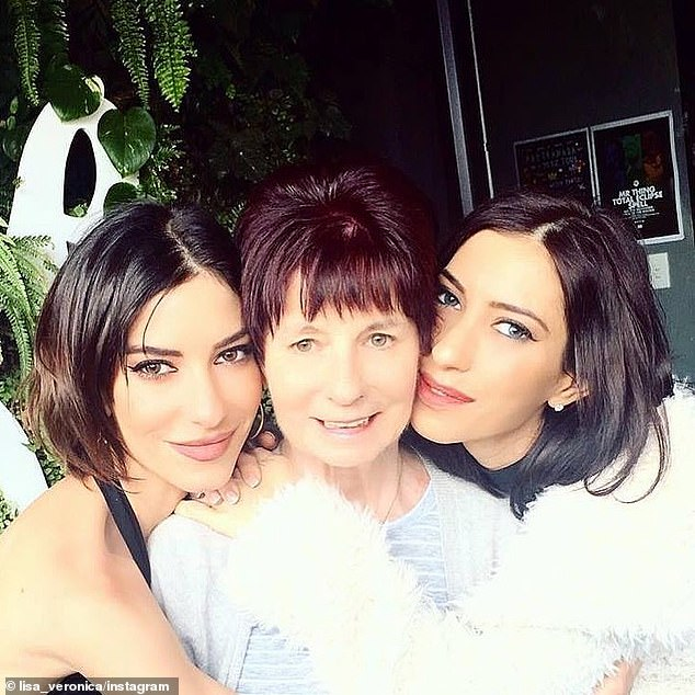 'Birthday with my angel mama':Last year, following Colleen's dementia diagnosis, Jess and Lisa moved back home to Australia after living in America for years for their music career