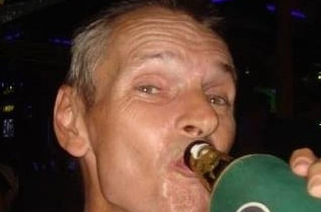 Simon Ball, 56, spent the night doubled-over in an excruciatingly uncomfortable position which police believe restricted his breathing