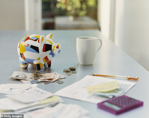 Others said that saving $10 a day that you might spend on a cafe-bought lunch soon really adds up (stock image)