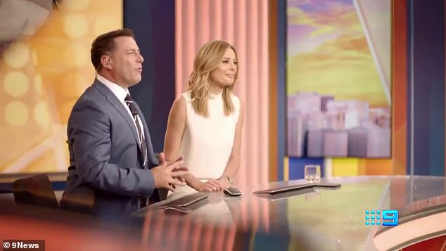 'We can't wait to tell you all the news, all the important stuff in the day, but send you off with a laugh': In a recent promo trailer for the revamped program, the duo said they're excited to bring the 'big stories' and plenty of humour each day to viewers