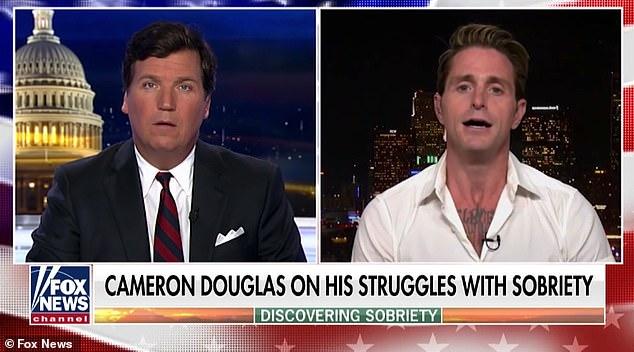 Michael Douglas's son Cameron tells Tucker Carlson how he ...
