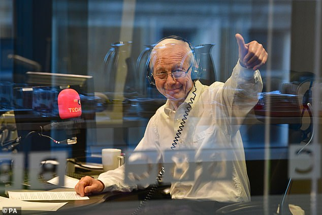 BBC Radio 4's flagship news programme Today (pictured, John Humphrys presenting his final show) is to be excluded from the broadcast shows where ministers will give interviews on the week building up to Britain's exit from the EU
