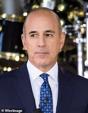 Matt Lauer, (pictured), is reportedly dating marketing guru and long-time friend Shamin Abas, who bears a striking resemblance to his ex-wife Annette Roque