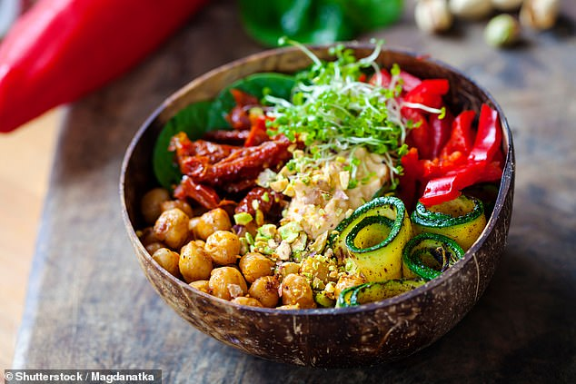 Ms Sepel said while she has 'so much respect' for people who adopt veganism for ethical reasons, others are pursuing the diet simply because it's become 'trendy' (stock image)