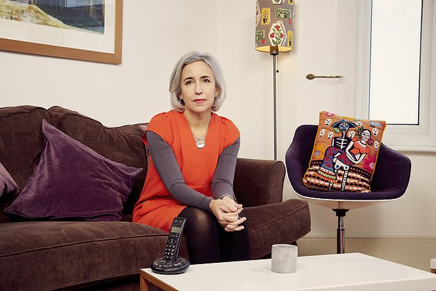 Crime novelist Tammy Cohen (pictured) revealed her daughter, 17, was attacked at night in London on her way home from a party