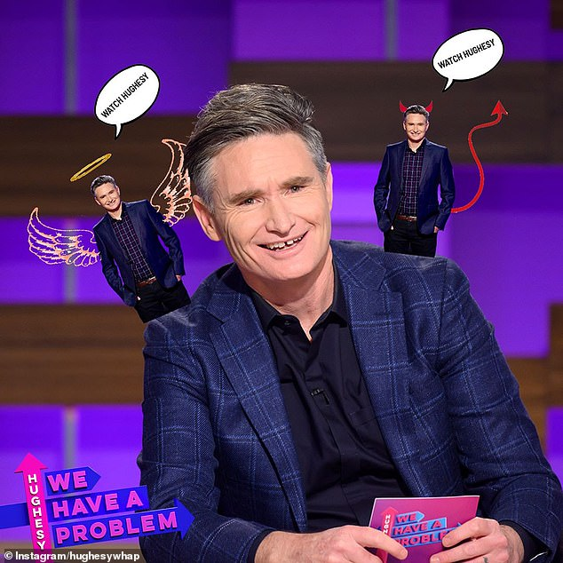 He's back!Hughesy We Have A Problem airs Monday nights from 9pm on Channel 10