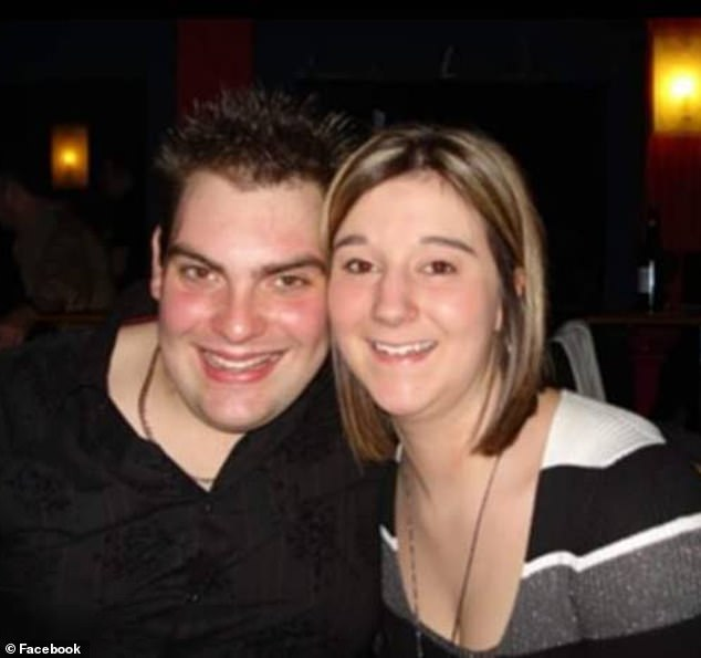 Amy Appleton, 32, (pictured with her husband Daniel Appleton) worked as teacher at the Copthorne Church of England School, close to her home in Crawley Down, West Sussex