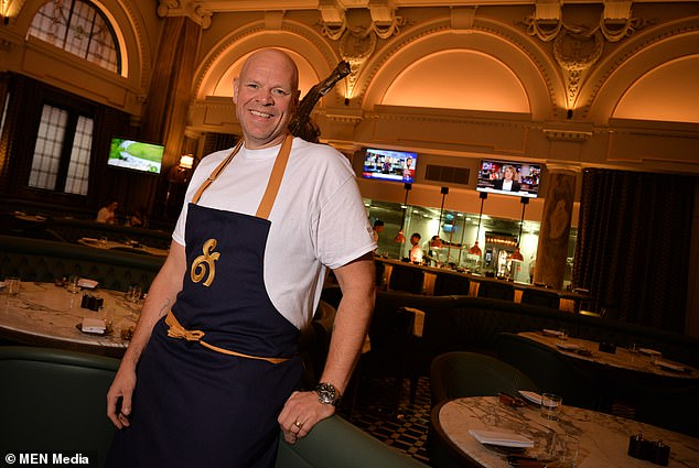Manchester is set to soar as a place to go for foodies this year, after gaining its first Michelin in 2019. Celebrity chef Tom Kerridge (pictured) opened Bull & Bear in the city this year