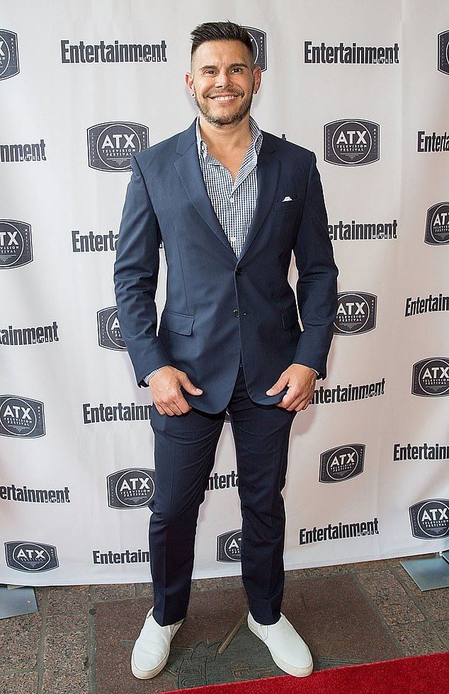 """On the success of Ugly Betty: 'My first year doing this, people would constantly ask me, """"Aren't you happy? You must be thrilled. You've got a hit show. You must be having the time of your life."""" Well, no, I'm not. It's all consuming,' he said in 2008 (pictured 2016)"""