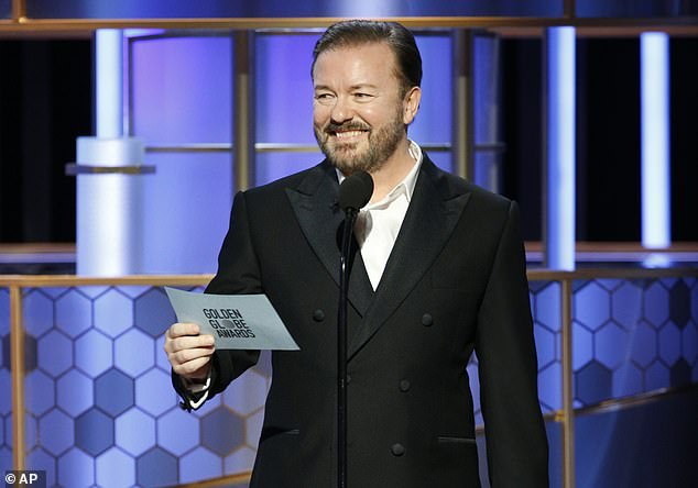 The speechRicky Gervais delivered to the audience at the Golden Globes was brash, brutal, highly offensive in parts ¿ and bang on the money