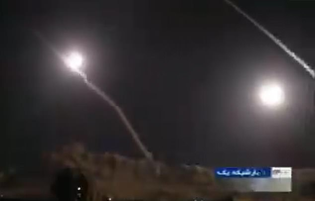 Multiple rockets were launched by Iran at Al-Asad airbase in Iraq that is home to US and coalition forces, including British troops