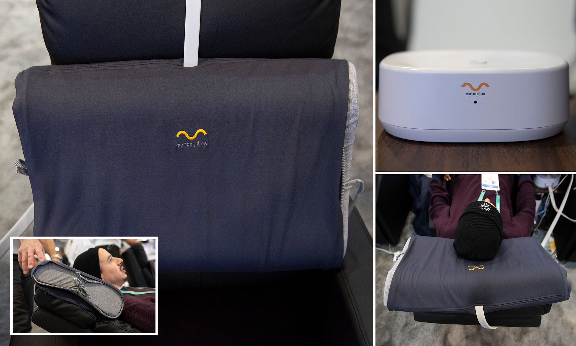 smart pillow uses airbags to adjust
