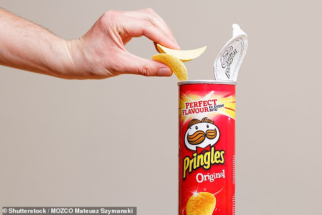A 200g tube of Original flavour Pringles contains 2.6g of salt, which is less than the four worst offenders sold in Tesco and Sainsbury's