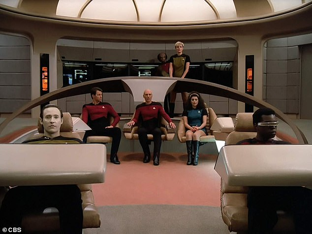Throwback: It's been 34 years since Patrick originated Picard on CBS series Star Trek: The Next Generation