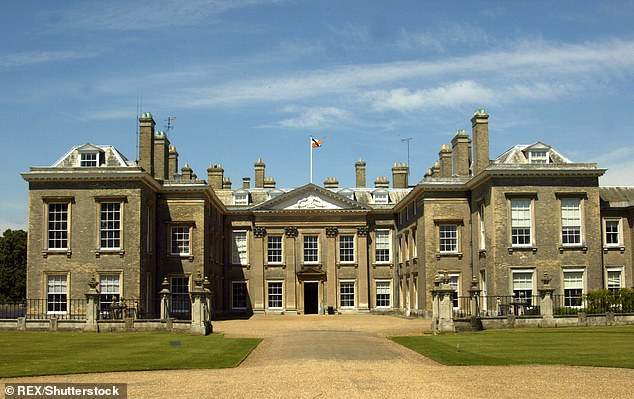 The Spencer family seat of Althorp House, pictured, is sure to be a likely choice for a wedding venue, although Mr Lewis's vast fortune means nowhere will be off limits