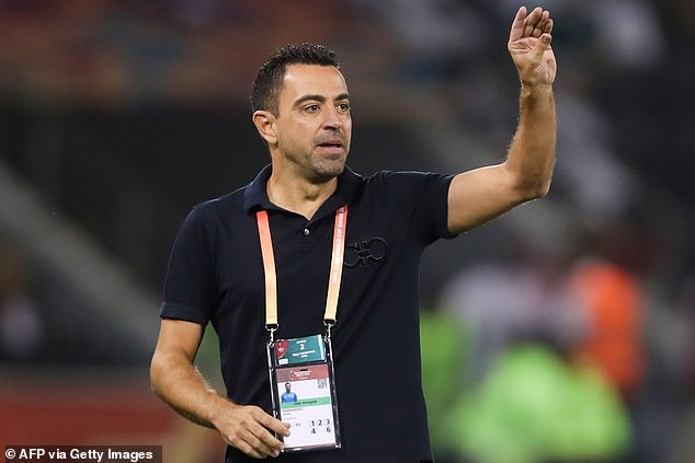 Xavi was reportedly offered a two and a half year deal to take over as head of Barcelona