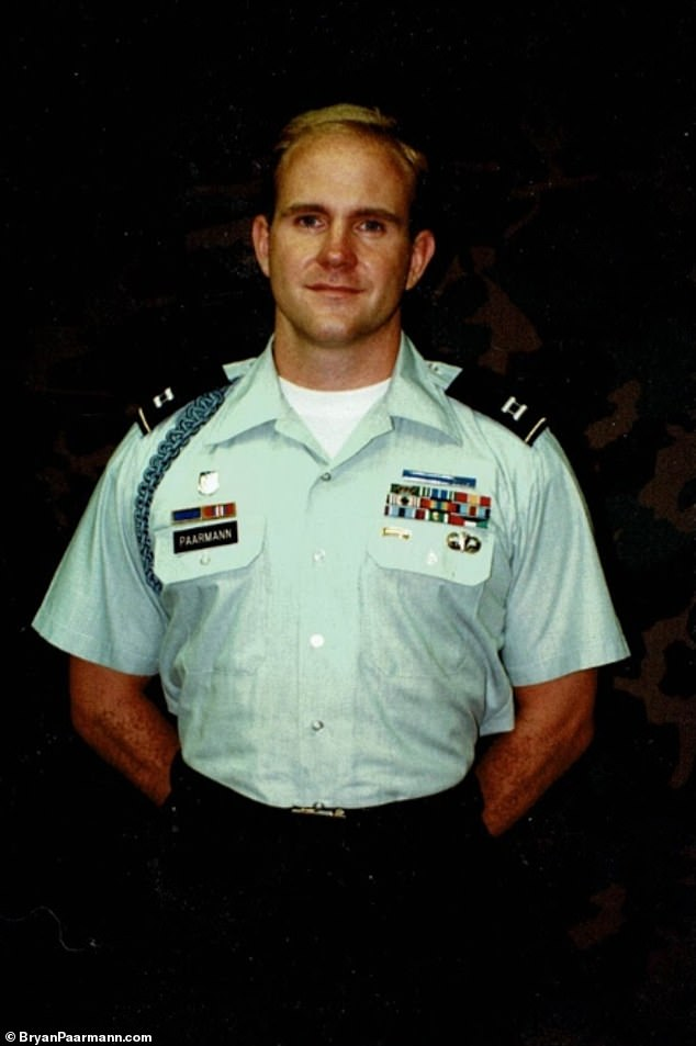 Paarmann (pictured) denied leaking any information, telling the Washington Examiner: 'never did I give classified or investigatively sensitive information to the press. I never endangered a prosecution and only did what I believed my superiors had tasked me with'
