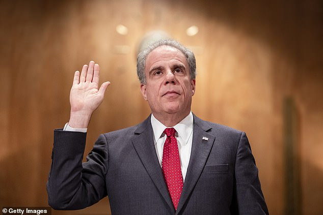 An investigation done by by the Department of Justice under Inspector General Michael E. Horowitz (pictured) reviewed Paarmann's communications over five years