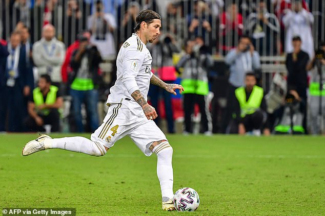 The game went to penalties, and it was Sergio Ramos who scored the winning spot kick