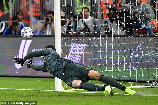 Thibaut Courtois' penalty save had ensured that Real Madrid lifted the Spanish Super Cup