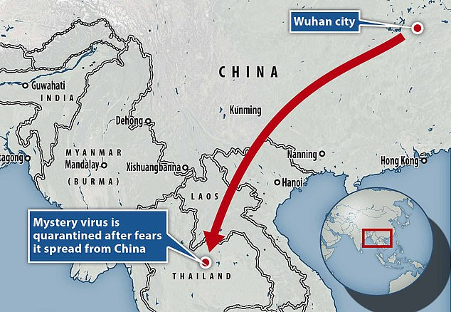 Fears increase that mysterious virus behind the killer epidemic in China could spread