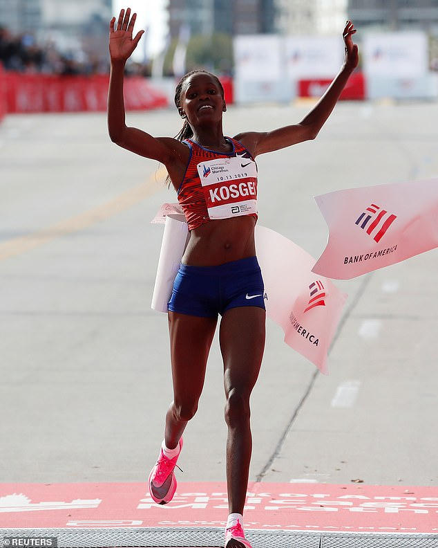 The shoes worn by Brigid Kosgei to smash Paula Radcliffe's marathon record are to be banned