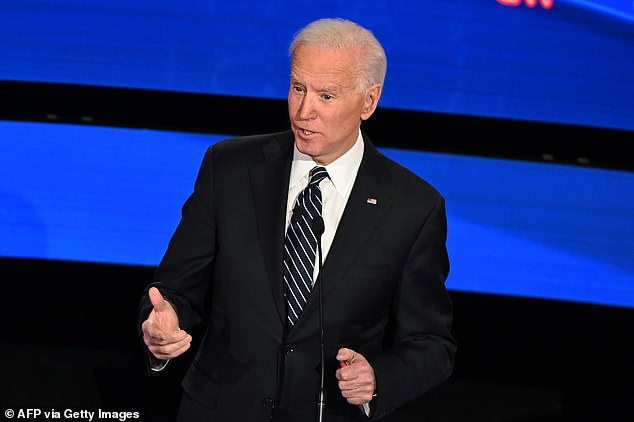 Former Vice President Joe Biden didn't fare well with analysts, who placed him either in the middle or on the bottom